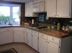 Click here to see photos of a kitchen remodel!